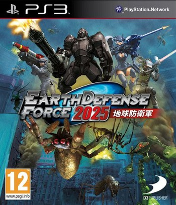 Earth Defense Force 2025 PS3 coverM (BLES01847)