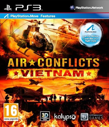 Air Conflicts: Vietnam PS3 coverM (BLES01858)