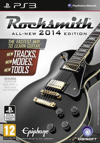 Rocksmith 2014 Edition PS3 coverM (BLES01862)