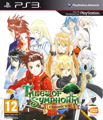 Tales of Symphonia Chronicles PS3 coverM (BLES01864)