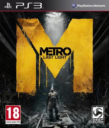 Metro: Last Light PS3 coverM (BLES01867)