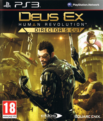 Deus Ex: Human Revolution Director's Cut PS3 coverM (BLES01928)