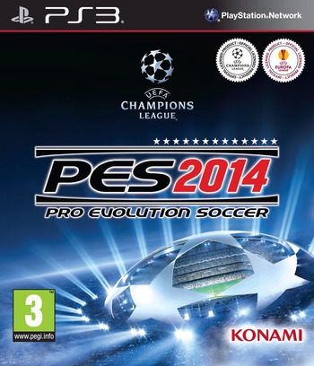 Pro Evolution Soccer 2014 PS3 coverM (BLES01932)