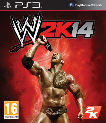 WWE 2K14 PS3 coverM (BLES01937)