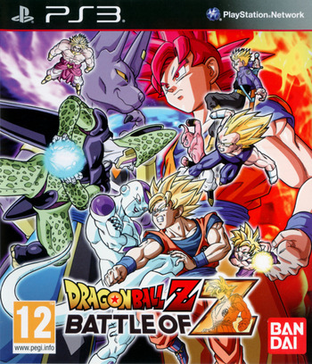 Dragon Ball Z: Battle of Z PS3 coverM (BLES01941)