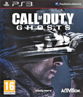 Call of Duty: Ghosts PS3 coverM (BLES01945)