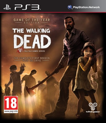 The Walking Dead (Game of the Year Edition) PS3 coverM (BLES01975)