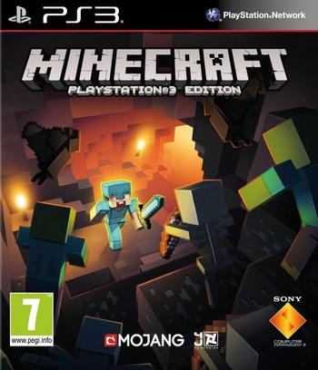 Minecraft: PlayStation 3 Edition PS3 coverM (BLES01976)