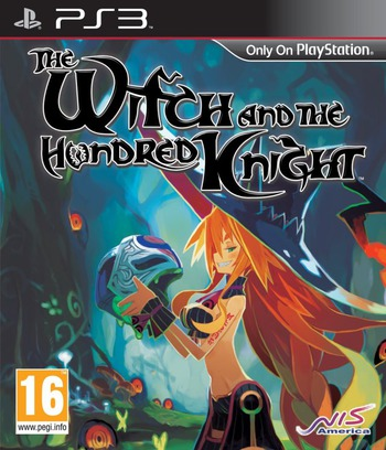 The Witch and the Hundred Knight PS3 coverM (BLES01987)