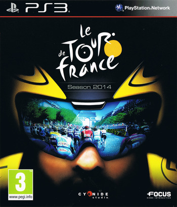 Le Tour de France 2014 PS3 coverM (BLES02006)