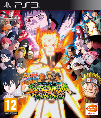 Naruto Shippuden: Ultimate Ninja Storm Revolution PS3 coverM (BLES02014)