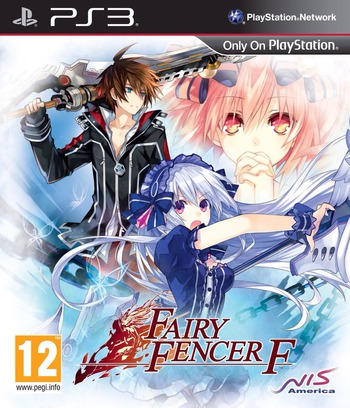 Fairy Fencer F PS3 coverM (BLES02023)