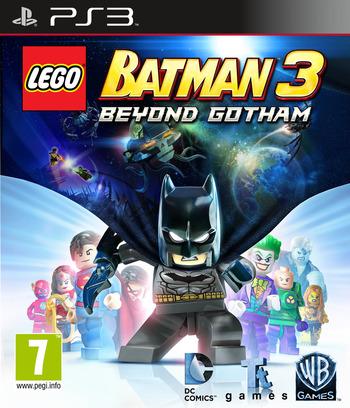 LEGO Batman 3: Beyond Gotham PS3 coverM (BLES02033)