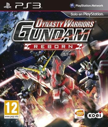 Dynasty Warriors: Gundam Reborn PS3 coverM (BLES02057)