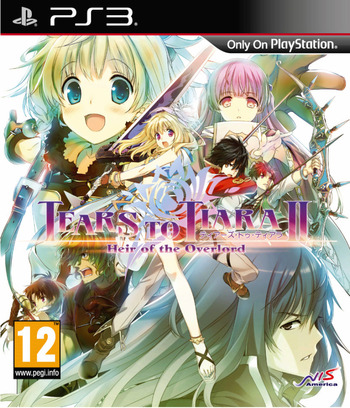 Tears to Tiara II: Heir of the Overlord PS3 coverM (BLES02115)