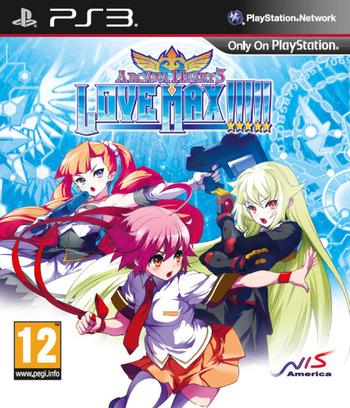 Arcana Heart 3: LOVE MAX!!!!! PS3 coverM (BLES02126)