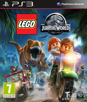 LEGO Jurassic World PS3 coverM (BLES02132)