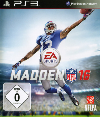 Madden NFL 16 PS3 coverM (BLES02139)