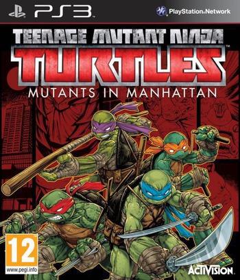 Teenage Mutant Ninja Turtles Mutants in Manhattan PS3 coverM (BLES02155)