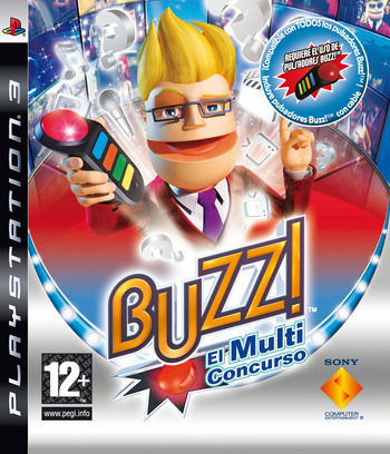 Buzz! El Multiconcurso PS3 coverM (BCES00098)