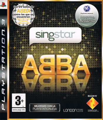 SingStar ABBA PS3 coverM (BCES00423)