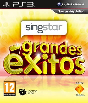 SingStar Grandes Éxitos PS3 coverM (BCES01258)