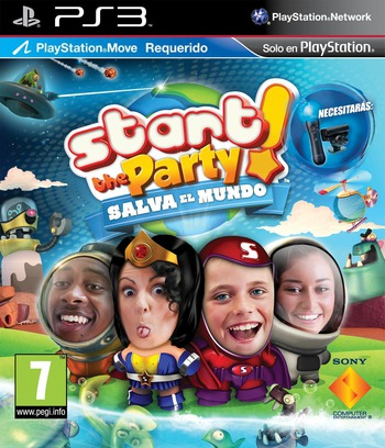 Start the Party! Salva el Mundo PS3 coverM (BCES01273)