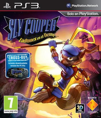 Sly Cooper: Ladrones en el Tiempo PS3 coverM (BCES01284)