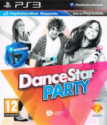 DanceStar Party PS3 coverM (BCES01361)