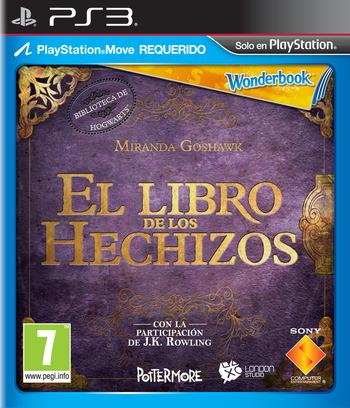 El Libro de los Hechizos PS3 coverM (BCES01531)