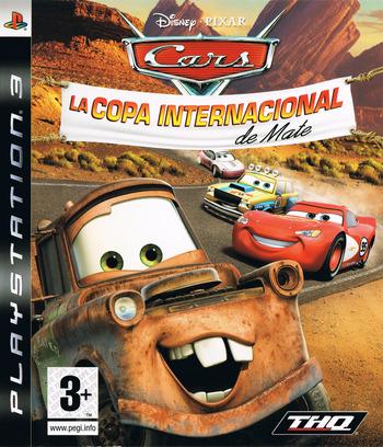 Cars: La Copa Internacional De Mate PS3 coverM (BLES00162)