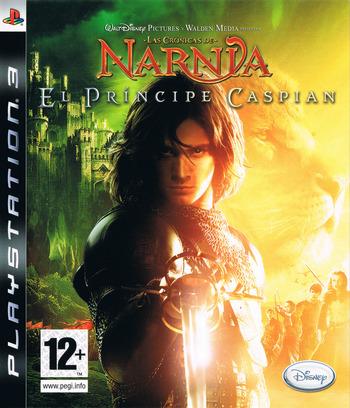 Las Crónicas de Narnia: El Príncipe Caspian PS3 coverM (BLES00251)