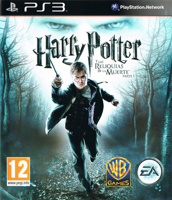 Harry Potter y Las Reliquias de la Muerte: Parte 1 PS3 coverM (BLES00931)