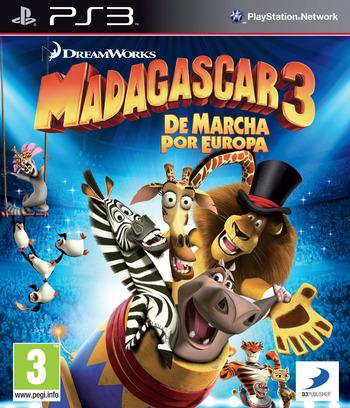 Madagascar 3: De Marcha por Europa PS3 coverM (BLES01624)