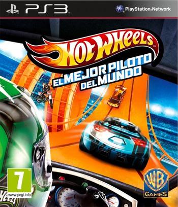 Hot Wheels: El mejor piloto del mundo PS3 coverM (BLES01881)