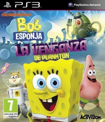 Bob Esponja: La Venganza de Plankton PS3 coverM (BLES01911)