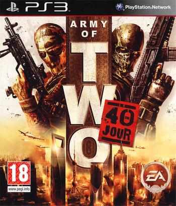 Army of Two:Le 40ème Jour PS3 coverM (BLES00659)