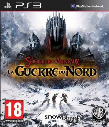 Le Seigneur des anneaux:la guerre du Nord PS3 coverM (BLES01181)