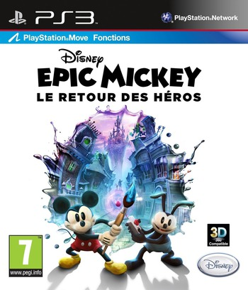 Disney Epic Mickey : Le retour des héros PS3 coverM (BLES01627)