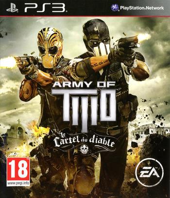 Army of Two:le Cartel du Diable PS3 coverM (BLES01763)