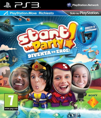 Start the Party! Diventa un Eroe! PS3 coverM (BCES01273)