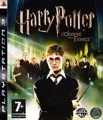 Harry Potter e l'Ordine della Fenice PS3 coverM (BLES00071)