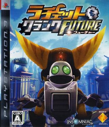 ラチェット&クランク FUTURE PS3 coverM (BCJS30014)