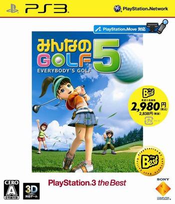 BCJS70020 - Minna no Golf 5 (PlayStation 3 the Best Reprint)