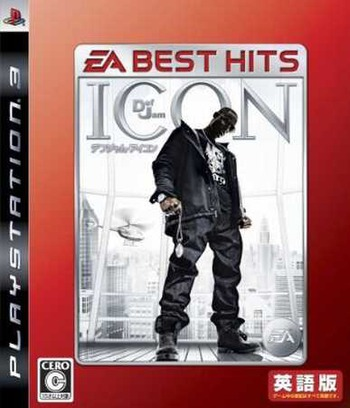 デフジャム アイコン (EA Best Hits) PS3 coverM (BLJM60091)
