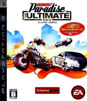 バーンアウト パラダイス:The Ultimate Box PS3 coverM (BLJM60133)