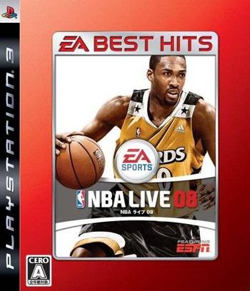 NBA ライブ 08 (EA Best Hits) PS3 coverM (BLJM60135)
