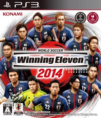 ワールドサッカー ウイニングイレブン2014 PS3 coverM (BLJM61106)