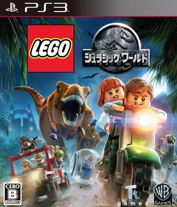 レゴ ジュラシックワールド PS3 coverM (BLJM61298)