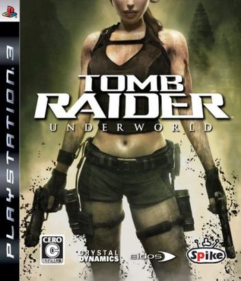 トゥームレイダー: アンダーワールド PS3 coverM (BLJS10044)